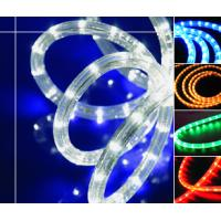 Green Waterproof Outdoor Energy Saving LED Neon Rope Light for Advertisement 4.8W/M IP44 Manufactures