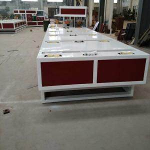 Siemens PLC PVC Pipe Belling Machine , PVC Pipe Manufacturing Machine Manufactures