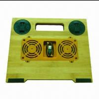 Laptop cooler pad with two DC fan Manufactures