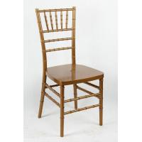 Gold Plastic Resin Chiavari Chair Silver For Events / UV Protection Chair Manufactures