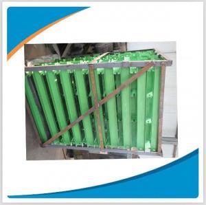 Supply conveyor belt roller support/frame/bracket for belt conveyor