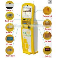 Quality Floor Standing Self Serving Kiosk / Airline Kiosk Check In Terminal For Hotel for sale