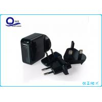 Qualcomm Quick Charge 2.0 USB Travel Charger , Detachable Plug USB Power Adapter Chrager Manufactures
