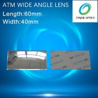 Wide Angle Field Optical PMMA Plastic Reflecting Fresnel Lens for ATM Bank Window, Security other field Rearview 60X40mm Manufactures