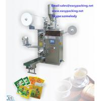 Automatic herbal tea bag packaging machine with string,tag and envelop Manufactures