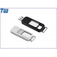Logo Engraved Plastic Full Capacity 128GB USB Flash Pen Drive Free Key Ring Manufactures