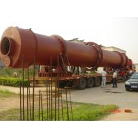 Steel Screw Conveyor Rotary Drum Dryer Coating Wood Powder With Energy Saving Manufactures