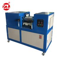 Customize Roller Size Rubber Testing Machine / Lab Two Roll Mill 3 Phase 380V 60Hz Manufactures