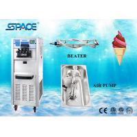 Staninless Steel Full Automatic Ice Cream Maker Machine Soft Serve Gravity Feed Manufactures