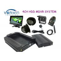 3G HD HDD Rugged Mobile DVR hidden security cameras system for Taxi management Manufactures