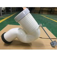 Row To Row Toilet Pipe Connector Fitting , Space Saving Bent Pan Connector Manufactures