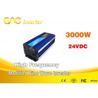 China Single Phase Modified Sine Wave Inverter / 3000w Power Inverter 32 Bits DSP on sale