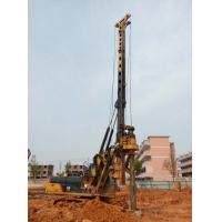 90 KN Max Crowd Pressure Foundation Hydraulic Piling Machine 32 M Max Drilling Depth Manufactures