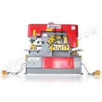 HARSLE Q35Y hydraulic angle bar cutting and punching ironworker machine Manufactures