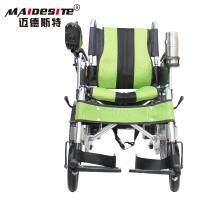 DLY-6001A Handicapped 	Electric Folding Wheelchair With Battery 130kg Manufactures