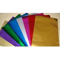 Embossing Colored Aluminum Foil For Chocolate Wrapping Non Toxic / Hygienic Manufactures