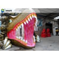 Dinosaur 5D Movie Theater For Mall Party Cinema With Action Rides Projector Manufactures