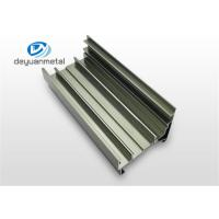 Customized  Silver Polishing  Aluminum Extrusion Profile For Floor Strip 6060-T5 / T6 Manufactures