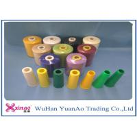 Ring Spun Polyester Yarn For Sewing Thread , 40/2 5000m 100 Polyester Yarn Evenness Manufactures