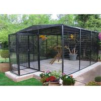 bird aviary 3m height x 2mx2m for parrot birds customized birds house for a zoo Manufactures