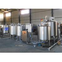 Flavored Fresh Milk Processing Machine / Dairy Milk Production Machinery Manufactures