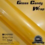 Gloss Candy Lemon Yellow Vinyl Wrap Film - Gloss Lemon Yellow Manufactures