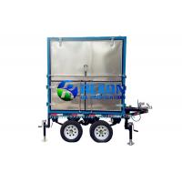 China Outdoor  4 Car Wheels Type Mobile Transformer Oil Purifier Machine on sale