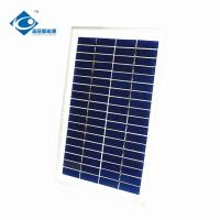 China 5W 6V Poly portable solar panel photovoltaic ZW-5W-6V home solar energy systems for emergency power supply on sale