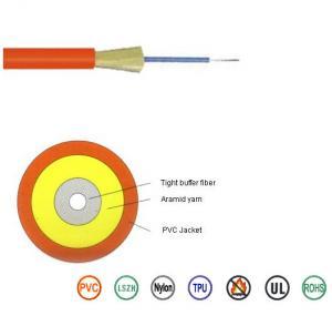 Flame Retardant Single Mode Fiber Optic Cable G652D For Data Communication Manufactures