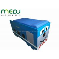 Manual Control Medical Exam Bed Two Sections Pediatric Table With Soft Mattress Manufactures