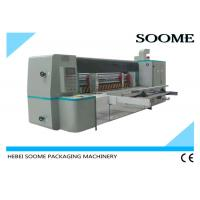 Automatic Rotary Die Cutting And Creasing Machine For Corrugated Cardboard With Pre - Creaser Manufactures