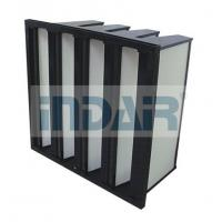 Low Resistance Air Filter For High Volume Air Flow Ventilation System Manufactures
