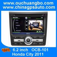 China Ouchuangbo HD 1080P S100 A8 Chipset S100 Platform Honda City 2011 Auto Radio DVD Player Touch screen RDS USB SWC on sale