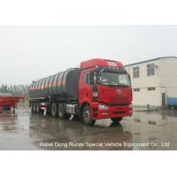 30000L -45000L Capacity Chemical Tanker Truck for Fluosilicic Acid / Hexafluorosilicic Acid Manufactures