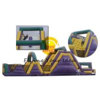 Giant Inflatable Castle Bouncer PVC , Colorful Obstacle For Children Manufactures