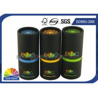 Eco - Friendly Paper Packaging Tube / Cardboard Round Paper Cans Manufactures