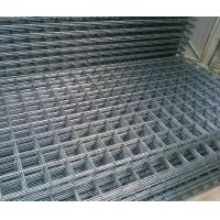 China Prefab Steel Frame Building Kits Ribbed Seismic 500E Rears Square Mesh Size 6m X 2.4m on sale