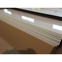 Ivory White PVC Ceiling Panels Glossy Oil Protecting Plastic Ceiling Tiles 603mm x 1210mm Manufactures
