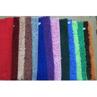 China Chenille floor mat  polyester material  pile height 12mm on sale
