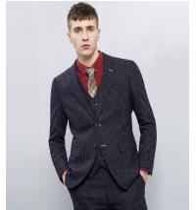 Men's Casual Business Suits 3 Piece Royal Blue Slim Fit Suits OEM Manufactures