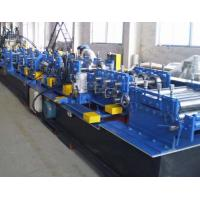 Galvanized Steel CZ Purlin Roll Forming Machine Fully Automatic High Speed Manufactures