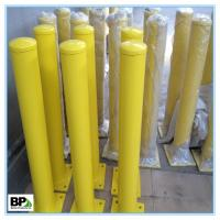 Steel parking bollard for road lot For indoor and outdoor security Manufactures