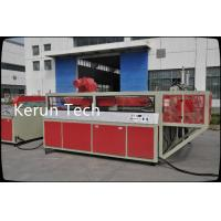 CE PVC Foam Board Machine Extrusion Line 600 - 2400mm With Double Screw Extruder Manufactures