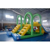 Supply Water Park Inflatable Aqua Slide Floating Water Tower For Lake Manufactures