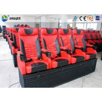 Pneumatic 4D Movie Theater With Motion 4D Chair For Futuristic Cinema Manufactures