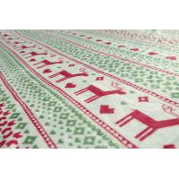 China Customized Printed Flannel Receiving Blanket , Plush Throw Blanket For Baby / Adults for sale