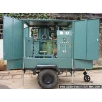 China Vacuum Transformer Oil Dehydration Plant NSH Trailer Type Mobile Double Stage on sale