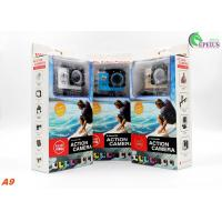 Professional 30 Meters Waterproof Action Camera A9 Full 1080P HD No Wifi Mini Size Manufactures