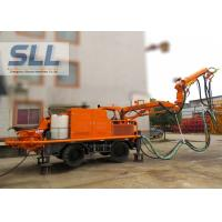China Full Automatic Concrete Spraying Machine With Remote Control Four Wheel Drive on sale