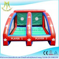 Hansel inflatable sports games basketball,inflatable ball games for kids Manufactures